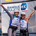 Quentin Delapierre et Manon Audinet. Sailing Energy