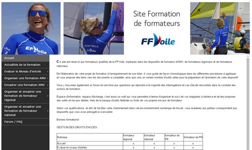 Site Formation Formateurs Ffv